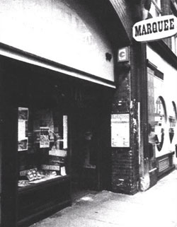 The Marquee club London